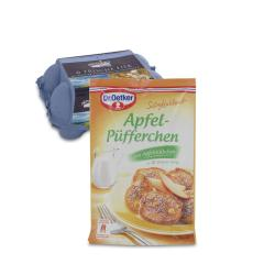 Set: Dr. Oetker Süße Mahlzeit Apfel-Püfferchen  - 2145300001983