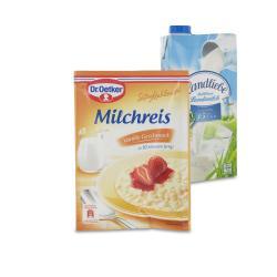 Set: Dr. Oetker Süße Mahlzeit Milchreis Vanille  - 2145300002045