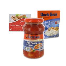 Set: Uncle Ben's Sauce Chinesisch Süß-Sauer  - 2145300002234