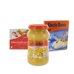 Set: Uncle Ben's Thailändisch Cremiges Curry  - 2145300002263