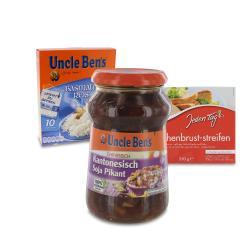 Set: Uncle Ben's Sauce Chinesisch Kantonesisch  - 2145300002276