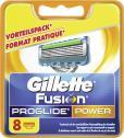Gillette Fusion Pro Glide Power Klingen  <nobr>(8 St.)</nobr> - 7702018010745
