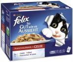 Felix So gut wie es aussieht mit Huhn, Rind, Kaninchen und Lamm  <nobr>(12 x 100 g)</nobr> - 7613031726400