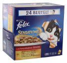 Felix Sensations Fleischauswahl in Gelee  <nobr>(24 x 100 g)</nobr> - 7613033044236