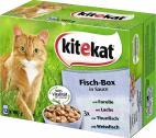 Kitekat Fisch-Box in Sauce  <nobr>(12 x 100 g)</nobr> - 4008429053672