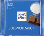 Ritter Sport Bunte Vielfalt Edel-Vollmilch  <nobr>(100 g)</nobr> - 4000417021007