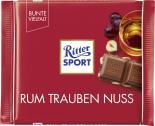 Ritter Sport Bunte Vielfalt Rum Trauben Nuss  <nobr>(100 g)</nobr> - 4000417012005