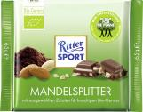 Ritter Sport Bio-Genuss Mandelsplitter  <nobr>(65 g)</nobr> - 4000417753007