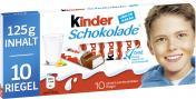 Kinder Schokolade  <nobr>(125 g)</nobr> - 4008400204727