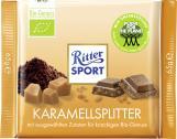 Ritter Sport Bio-Genuss Karamellsplitter  <nobr>(65 g)</nobr> - 4000417756008