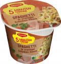 Maggi 5 Minuten Terrine Spaghetti in Schinkensauce  <nobr>(64 g)</nobr> - 4