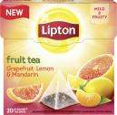 Lipton Fruit Tea Grapefruit Lemon & Mandarin Pyramidenbeutel  <nobr>(38 g)</nobr> - 8712100775574