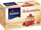 Meßmer Himbeertörtchen  <nobr>(18 x 2,25 g)</nobr> - 4002221029118