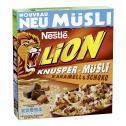 Nestle Lion Knusper-Müsli Karamell & Schoko  <nobr>(350 g)</nobr> - 7613035149687