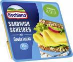 Hochland Sandwich Scheiben mit Gouda leicht  <nobr>(175 g)</nobr> - 4002468130097