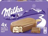 Milka Stieleis Schokolade-Vanille  <nobr>(4 x 110 ml)</nobr> - 4007993016885