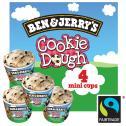 Ben & Jerry&apos;s Cookie Dough  <nobr>(4 x 100 ml)</nobr> - 8712100724220