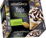 Mövenpick Eis Signature Maple Walnuts  <nobr>(4 x 110 ml)</nobr> - 7613035423428