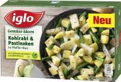 Iglo Gemüse Ideen Kohlrabi & Pastinaken in Pfeffer-Duo  <nobr>(400 g)</nobr> - 4250241207218