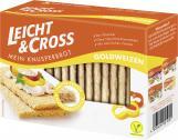 Leicht & Cross Mein Knusperbrot Goldweizen  <nobr>(125 g)</nobr> - 4008404001001