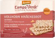 Demeter Campo Verde Knäckebrot Vollkorn mit Dinkel  <nobr>(250 g)</nobr> - 4045178001684