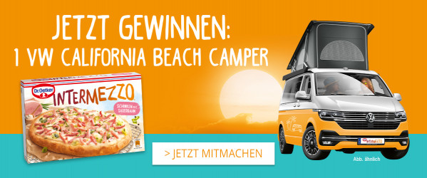 VW California Beach Camper